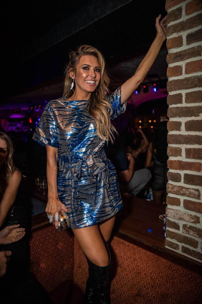 Audrina Patridge is shown partying at On The Record on Saturday, Sept. 21, 2019, (Tony Tran)