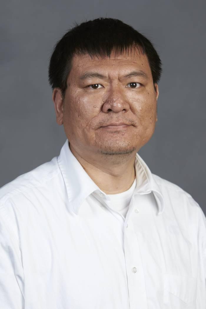 Shichun Huang, Geoscience. (R. Marsh Starks / UNLV Photo Services)