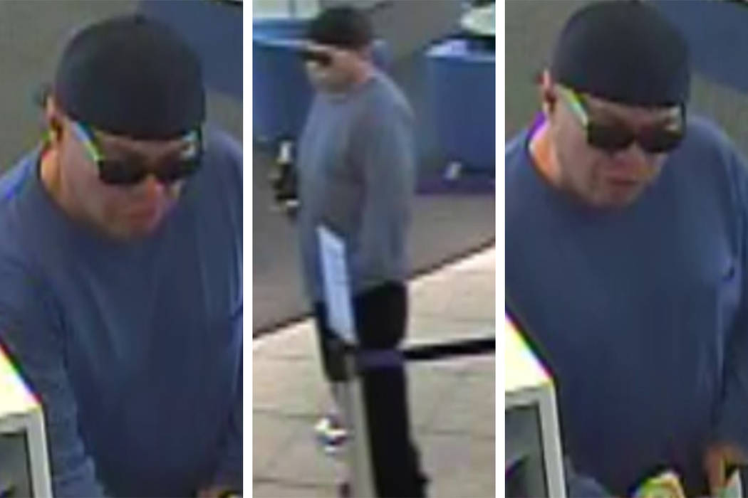 Police are looking for a man connected to a robbery on Monday, Sept. 23, 2019, on the 8000 bloc ...