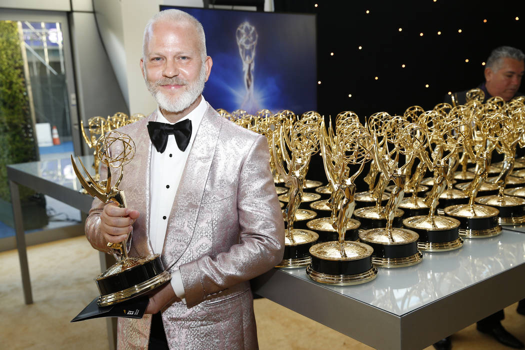 Ryan Murphy, winner of the award for outstanding directing in a limited series, movie or dramat ...