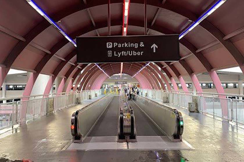 Beginning Wednesday, Uber and Lyft users will catch their ride out of McCarran from the Level 2 ...