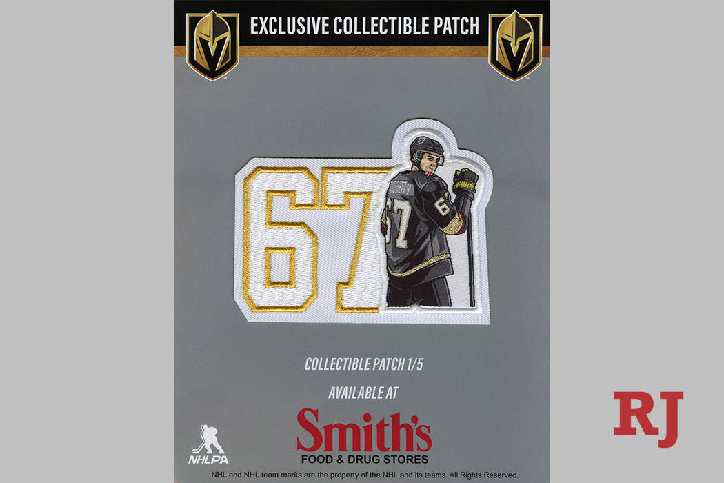 The Vegas Golden Knights Max Pacioretty patch is one of 5 exclusive collectible patches that wi ...