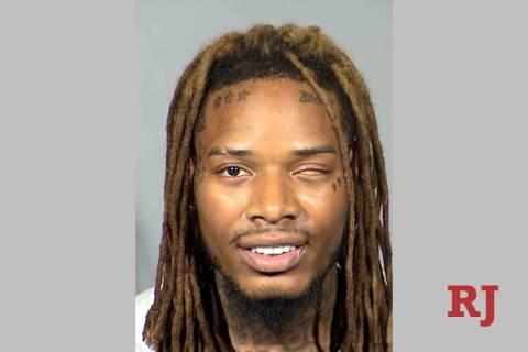 Fetty Wap, a.k.a. Willie Maxwell, was arrested in Las Vegas on Sunday, Sept. 1, 2019. (Las Vega ...