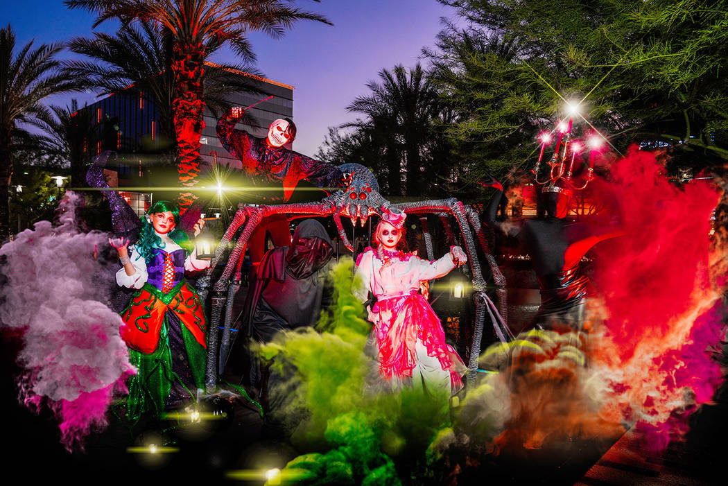 Parade of Mischief is sponsored by Spirit Halloween in Downtown Summerlin. (Downtown Summerlin)