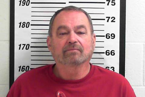 In this photo released by Davis County Sheriff's Department shows Mark Douglas Burns. Burns, a ...