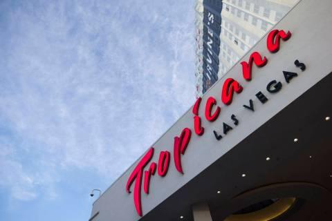 The Tropicana Las Vegas on the Las Vegas Strip is owned by Penn National Gaming. (Las Vegas Rev ...
