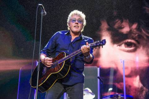 FILE - In this Aug. 13, 2017 file photo, Roger Daltrey of The Who performs at the 2017 Outside ...