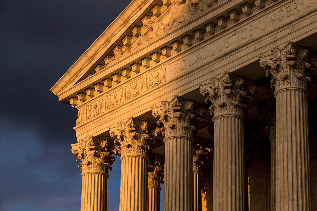 The Supreme Court in Washington (AP Photo/J. Scott Applewhite)