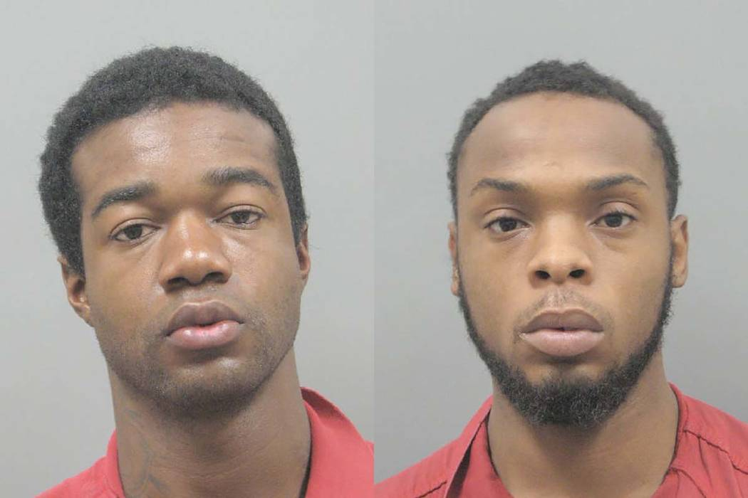 Lesean Braddock and Bryon Porter (Henderson Police Department)