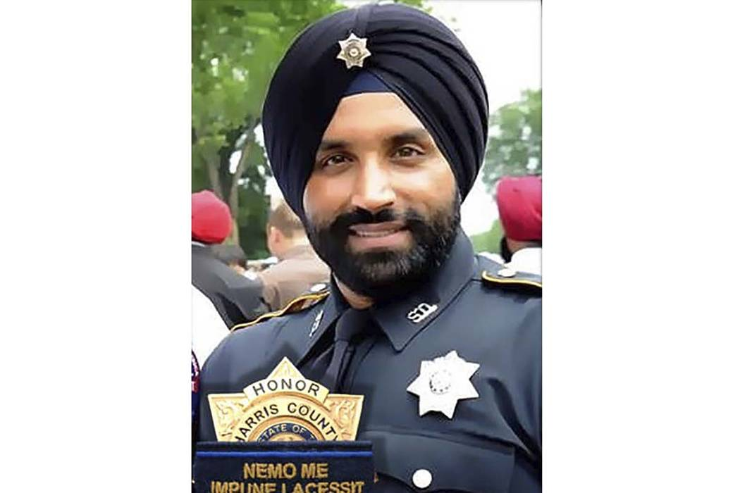 This photo provided by Harris County Sheriff's office shows Deputy Sandeep Dhaliwal. Dhaliwal w ...