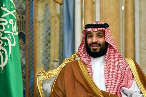 FILE - In this Sept. 18, 2019, file photo, Saudi Arabia's Crown Prince Mohammed bin Salman atte ...