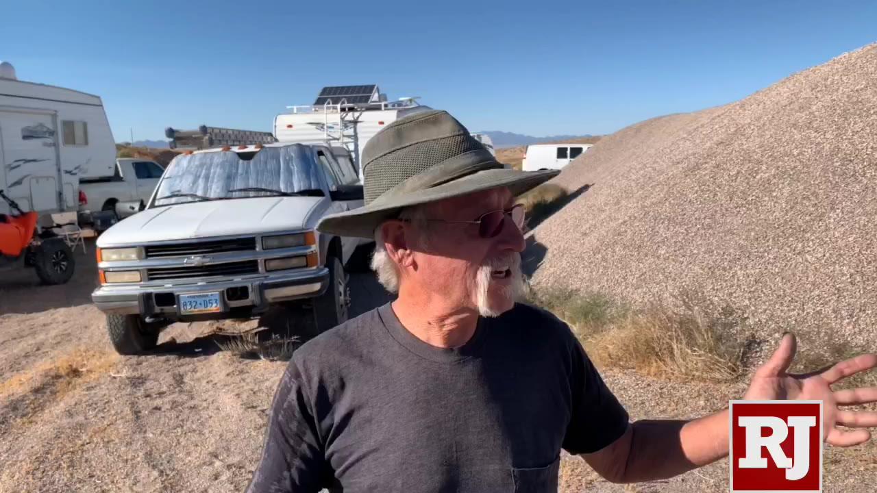 Storm Area 51 fans arriving, setting up roadside campsites