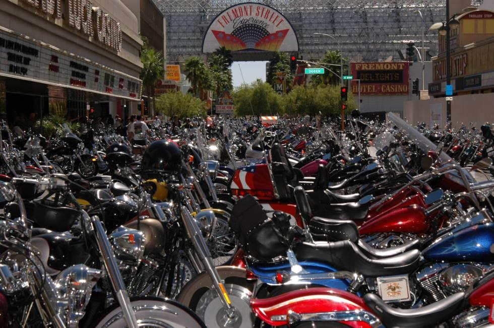 Las Vegas Bikefest runs Thursday through Sunday in downtown Las Vegas. (Las Vegas Bikefest)