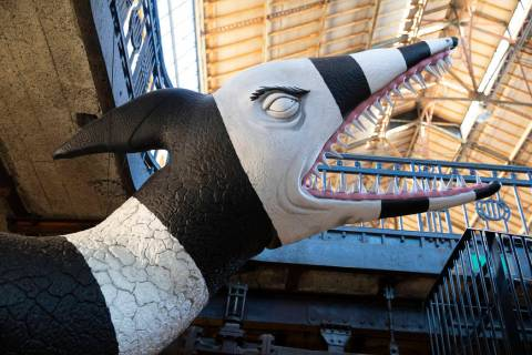 """Tim Burton @ the Neon Museum"" will be an exhibition of Burton's original artwork beginning in ..."
