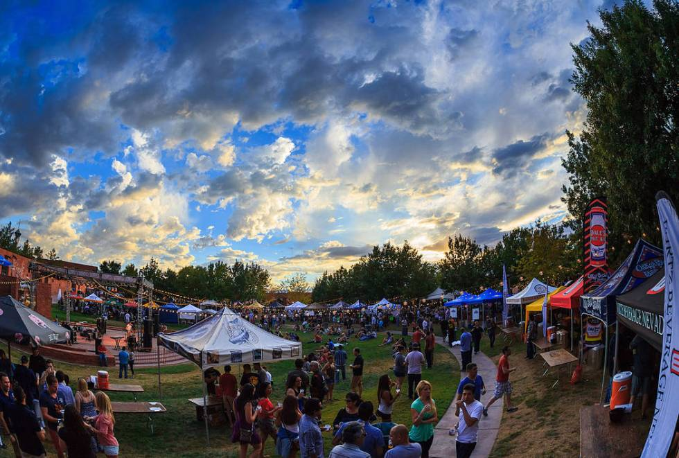 The Downtown Brew Festival returns to the Clark County Amphitheater on Saturday. (Fred Morledge)
