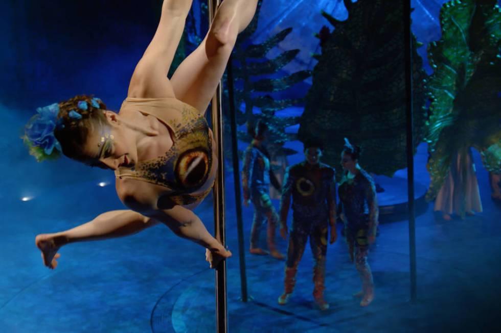 "Cirque du Soleil's touring show ""Luzia,"" set in an imaginary version of Mexico, i ..."