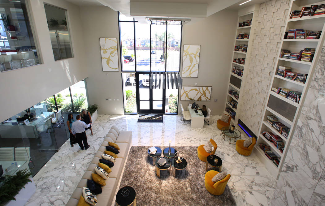 A clubhouse at Empire apartment complex is seen on Friday, Aug. 15, 2019, in Henderson. (Bizuay ...