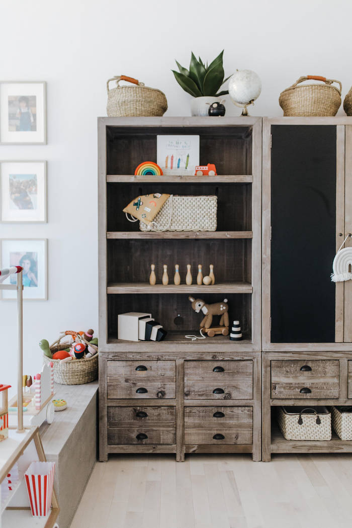 Because today's children have so many toys, interior designer Jannicke Ramso of Tiny Little Pad ...
