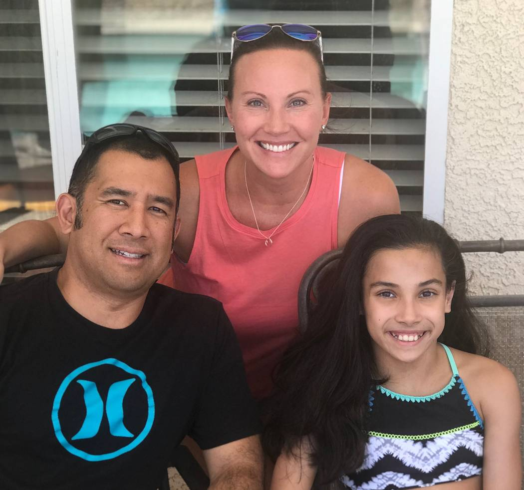 Courtesy Elaine Arcenas After her daughter was born, Elaine Arcenas was diagnosed with breast a ...