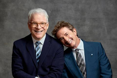Steve Martin and Martin Short (Mark Seliger)