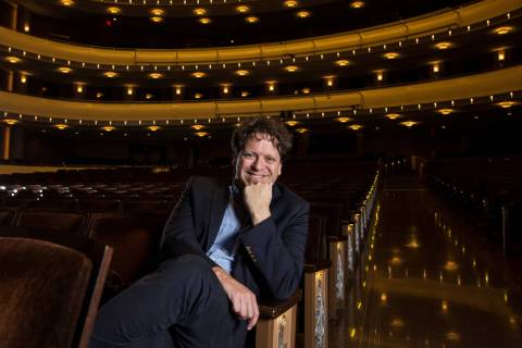 Donato Cabrera (Benjamin Hager/Las Vegas Review-Journal)