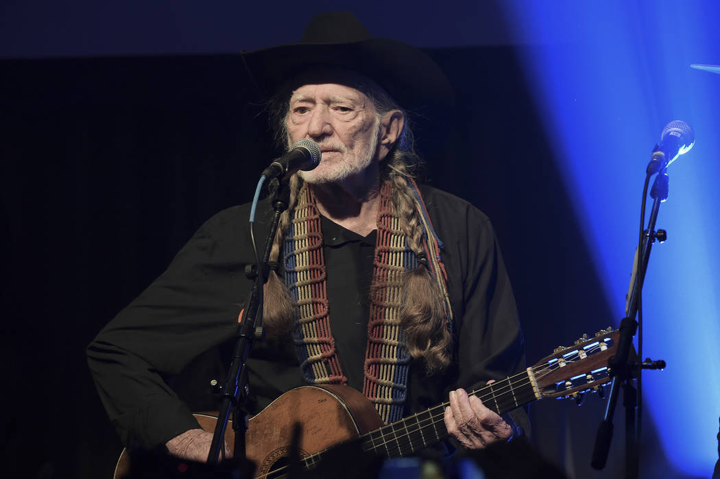 FILE - In this Feb. 6, 2019 file photo, Willie Nelson performs at the Producers & Engineers ...