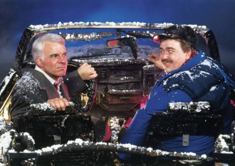 """Steve Martin, left, and John Candy star in """"Planes, Trains & Automobiles."""" © 1987 Paramount Pi ..."""