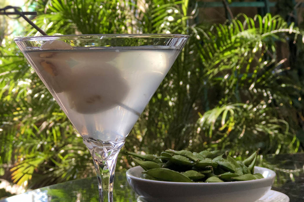 Pin Kaow Lychee Martini