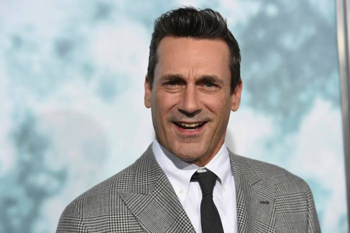 """Jon Hamm arrives at the Los Angeles premiere of """"Lucy in the Sky"""" at Fox Studios on W ..."""