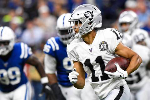 Oakland Raiders wide receiver Trevor Davis (11) during the second half of an NFL football game ...