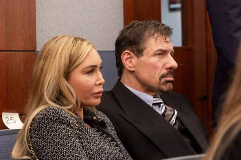 Ashley Fargo and her boyfriend, billionaire Henry Nicholas III, await a plea hearing in their d ...