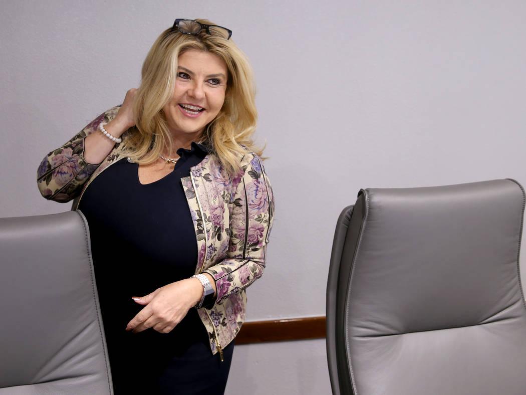 Las Vegas Convention and Visitors Authority board member, Las Vegas Mayor Pro Tem Michele Fiore ...