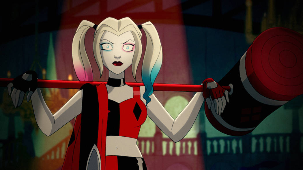 """Kaley Cuoco voices the lead character in """"Harley Quinn."""" (DC Universe)"""