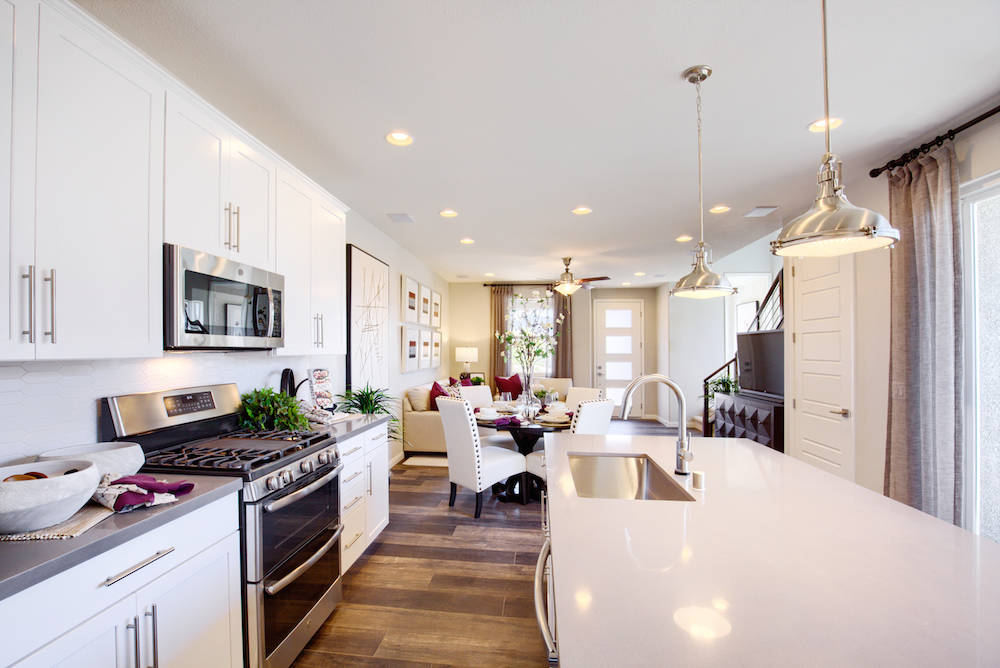 The kitchen. (Richmond American Homes)