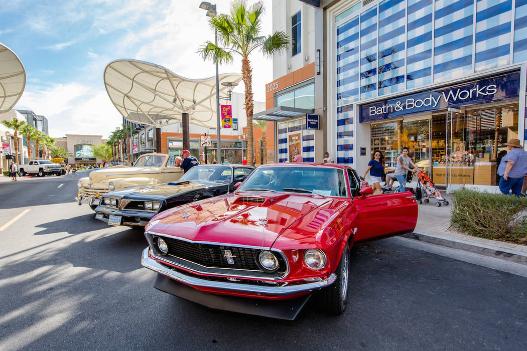 The 24th annual Summerlin Festival of Arts will include a classic car show. (Summerlin)