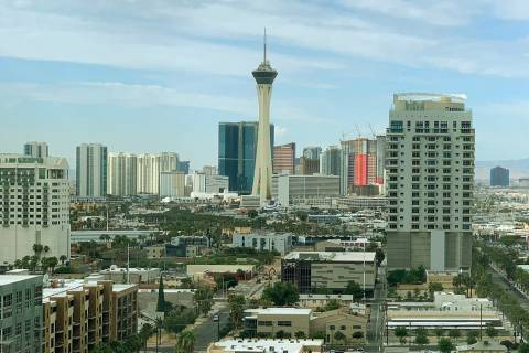 Pleasant fall weather conditions will continue this week in the Las Vegas Valley in advance of ...
