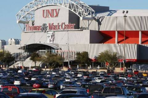 The Thomas & Mack Center. (Las Vegas Review-Journal File Photo)