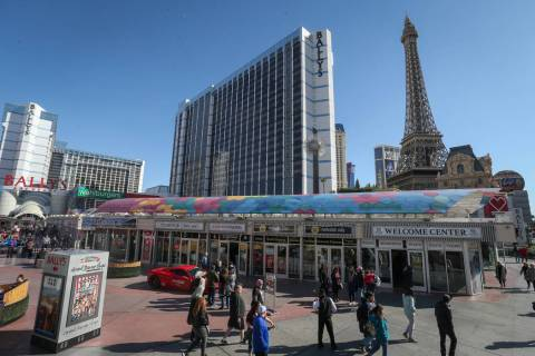 Bally's on the Las Vegas Strip (Caroline Brehman/Las Vegas Review-Journal)