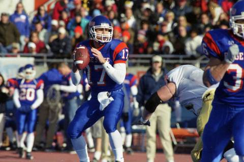 Former Boise State quarterback Bart Hendricks had an instrumental role in establishing the prog ...