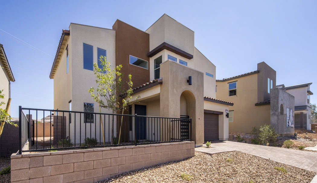 Pardee Homes' SmartBuy Campaign offers a move-in-ready Plan One at the Cirrus neighborhood in s ...
