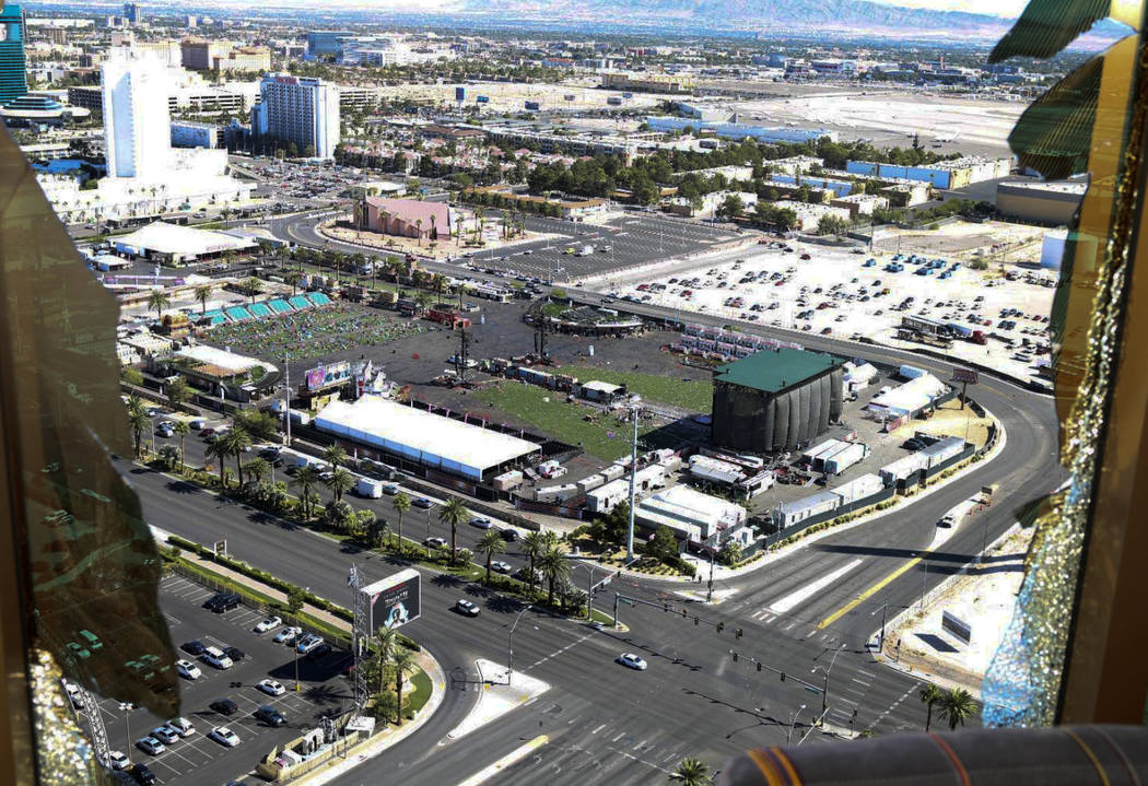 This October 2017 photo released by the Las Vegas Metropolitan Police Department Force Investig ...