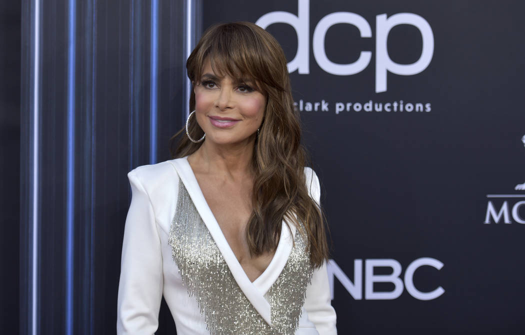 Paula Abdul arrives at the Billboard Music Awards on Wednesday, May 1, 2019, at the MGM Grand G ...