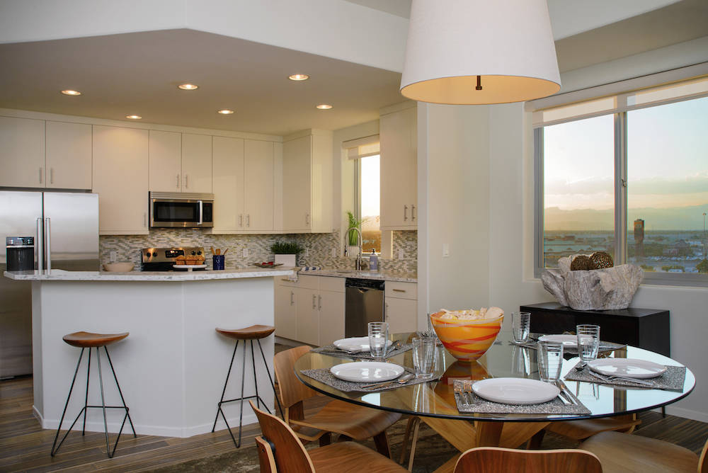 Residence No. 912 at One Las Vegas is available for immediate move-in. (One Las Vegas)