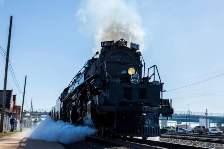 Union Pacific's Big Boy train will make a stop in Las Vegas this weekend. (Union Pacific)