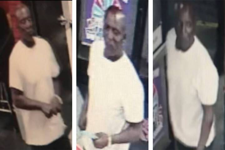Police are looking for a man in connection to a robbery that occurred Sunday, Sept. 29, 2019, o ...