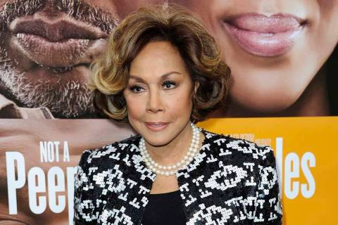 "Diahann Carroll attends the world premiere of ""Peeples"" in Los Angeles, May 8, 2013. Carroll pa ..."