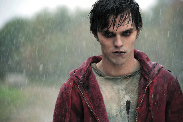 "This film image released by Summit Entertainment shows Nicholas Hoult in a scene from ""Warm Bod ..."
