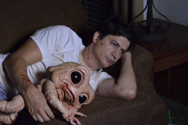 Ken Marino portrays an overstressed accountant whose body harbors a murderous monster in the tw ...