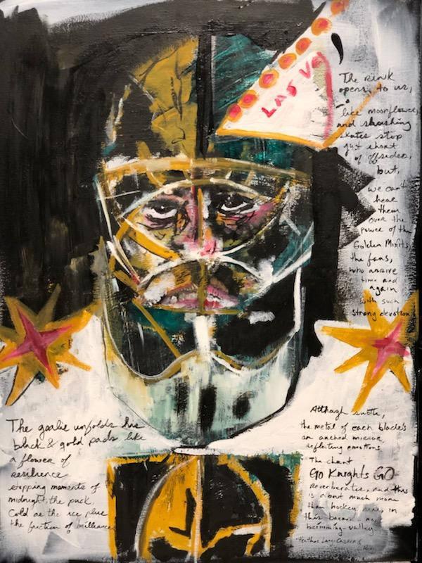 "Heather Lang-Cassera, poetry and Logan Riley artist, ""Desert Hockey,"" featured in ""Imagine Neva ..."
