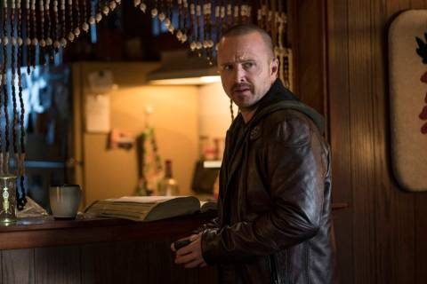 "Aaron Paul in ""El Camino: A Breaking Bad Movie"" (Ben Rothstein/Netflix)"